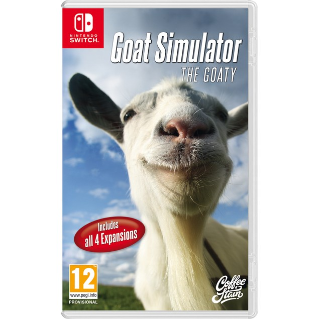 Goat Simulator The Goaty Nintendo Switch Game