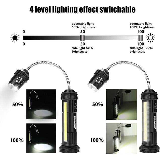 2PACK 360º BBQ GRILL LIGHTS SIDE LED MAGNETIC BASE LAMP SET UPGRATED