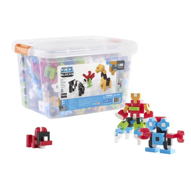 GuideCraft IO Blocks 1000 Piece Education Set