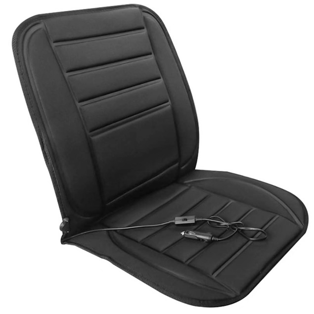 Heated Car Seat Cushion 12V Auto Seat Cover Warmer with Adjustable Temperature