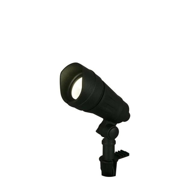 Hampton Bay 9.8 Watt Millennium Outdoor LED Landscape Spot Light, Black