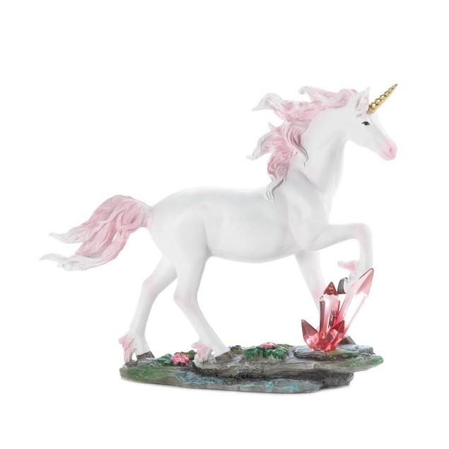 Dragon Crest Unicorn Crystals Figurine
