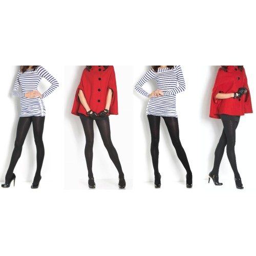 4 - Pack Premium Superfine Fleece Lined Tights – Stylish & Warm Footed