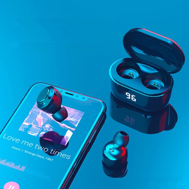 A6 True Wireless Bluetooth Headset 5.0 Mini Stealth Tws Sports Business In-ear Car