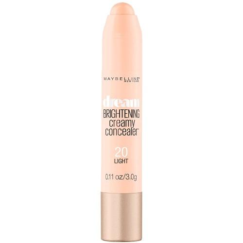 Maybelline New York Dream Brightening Creamy Concealer, Light, 0.11 Oz