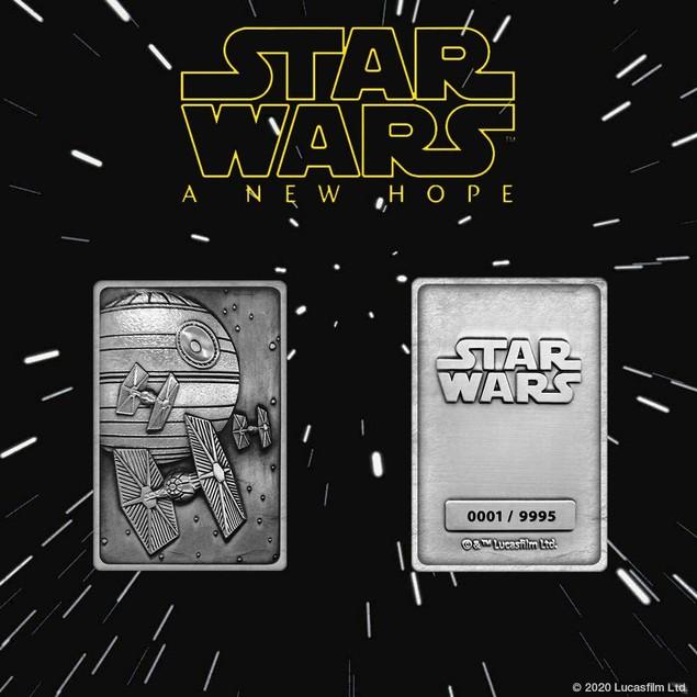 K-002 Death Star Scene (Star Wars) Limited Edition Metal Collectable Ingot