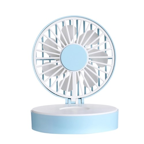 Compact Fan with Mirror