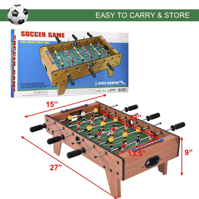 Costway 27'' Foosball Table Competition