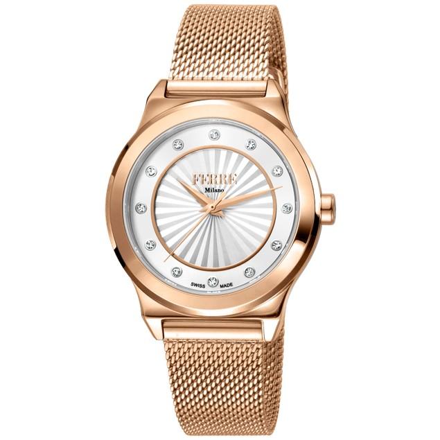 Ferre Milano Women's Classic White Dial Watch - FM1L125M0261