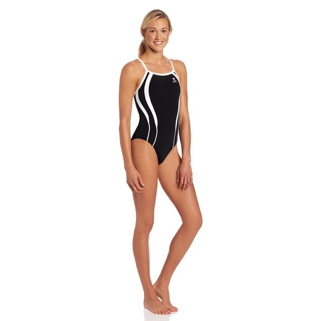 TYR Adult Alliance T-Splice Maxback Swimsuit, sz: 38