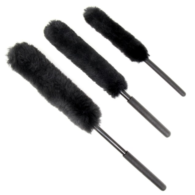Vehicle Wheel Cleaning Brushes - Pack of 3 | Pukkr