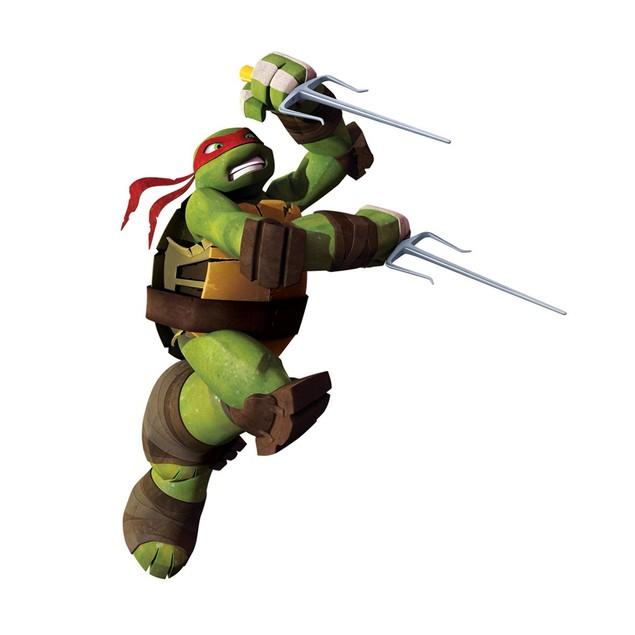 Roommates Wall Decor Teenage Mutant Ninja Turtles Raphael Giant Wall Decal