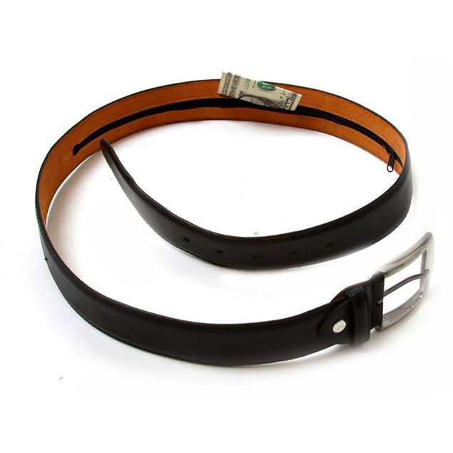 Leather Men's Money Belt
