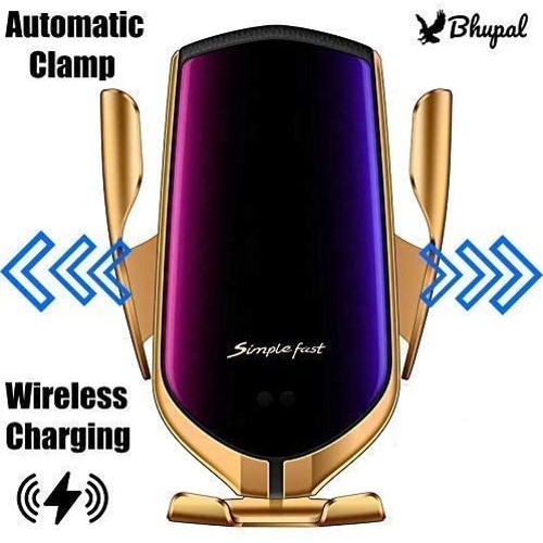 R2 wireless car charger  Gold