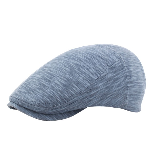 Unisex Vintage Casual Cotton Hat Winter Cap Vintage Warmer Berets Hat b