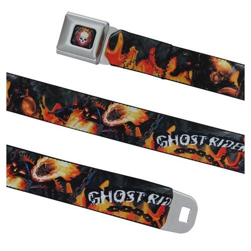 Ghost Rider Hellfire Seatbelt Belt