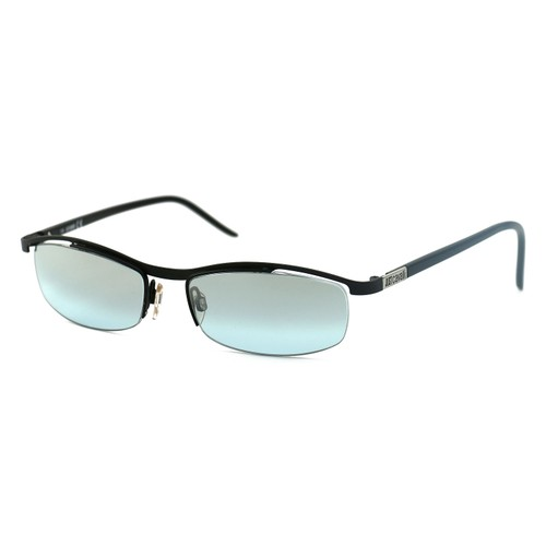 Just Cavalli Unisex Sunglasses JC 0055 0BR Black 54 17 135 Semi Rimless Oval