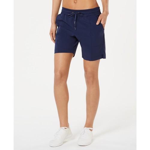 Ideology Women's Woven Shorts Blue Size XX Large