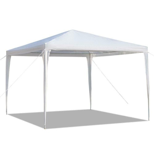 Outdoor Canopy 10x10 Ft Party Wedding Tent Heavy Duty Gazebo Pavilion Tent White