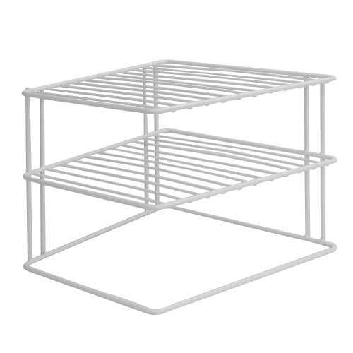 2 Tier Cupboard Corner Shelf | MandW