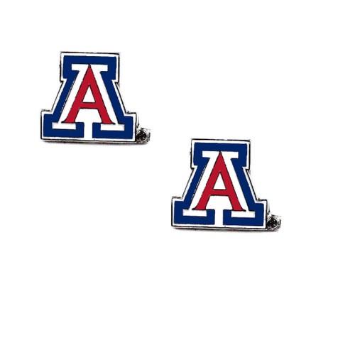Arizona Wildcats post Stud Logo Earring Set NCAA Charm