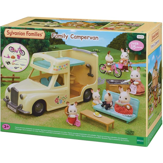 Sylvanian Families 5454 Family Campervan Vehical Playset