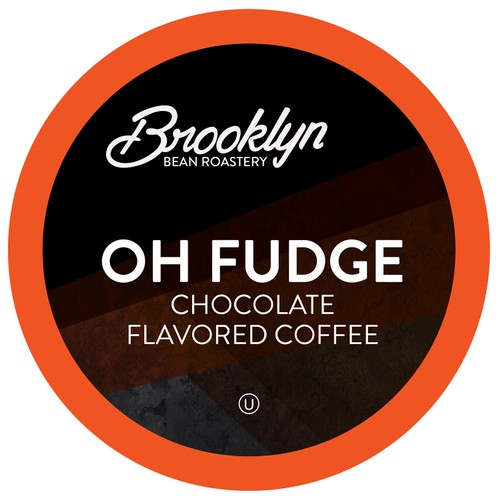 Brooklyn Beans Oh Fudge Coffee Pods,Compatible with Keurig Brewers,40 Count