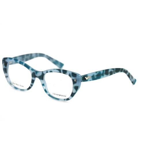 Emporio Armani Women's  Eyeglasses EA9864 GPD Blue 50 19 140 Full Rim
