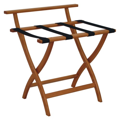 Wallsaver Luggage Rack Medium Oak Finish Lr4-Moblk
