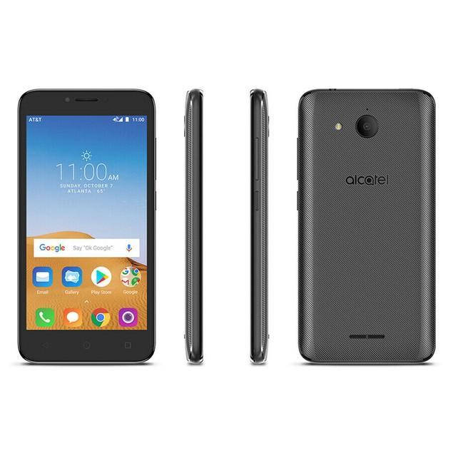 Alcatel Tetra 5041C GSM Unlocked Smartphone (Stealth Black, 16GB)