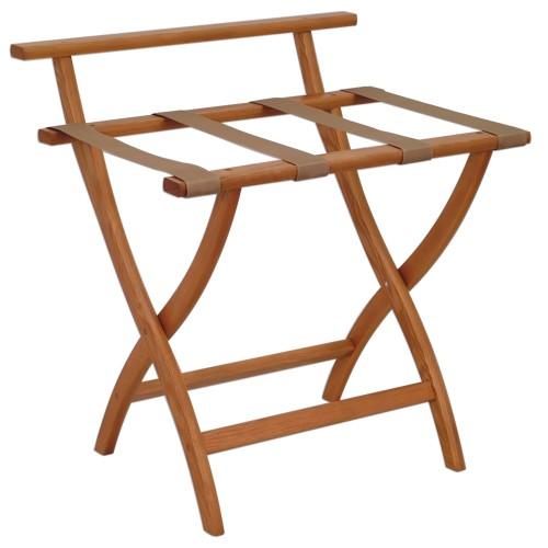 Wallsaver Luggage Rack Medium Oak Finish Lr4-Motan