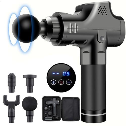 Portable Massage Gun for Deep Tissue Muscle Relieve Digital Display