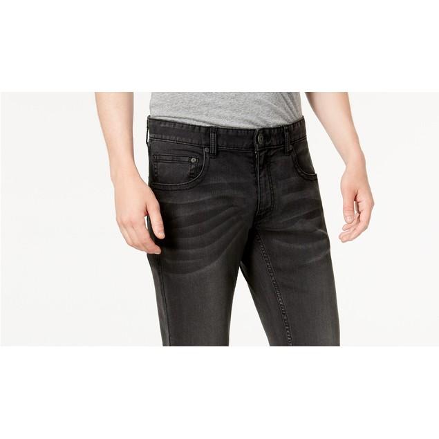 INC International Concepts Men's Skinny Jeans Black Size 34X32