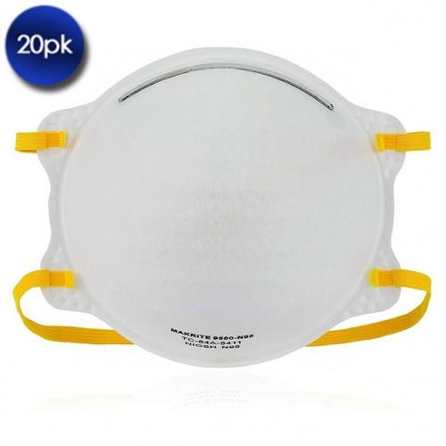 20 Pack: Makrite Niosh N95 9500 Masks