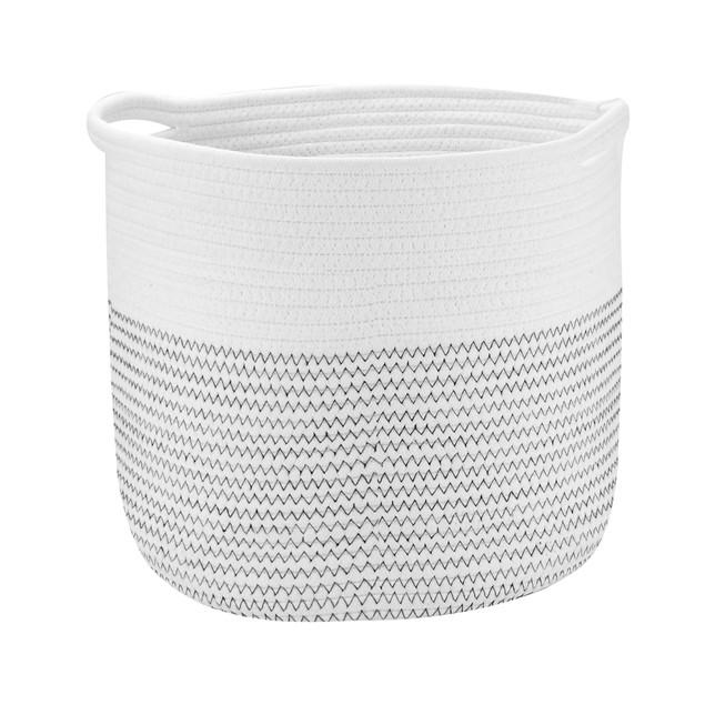 Cotton Rope Storage Basket | MandW