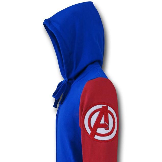 Captain America Varsity Hoodie