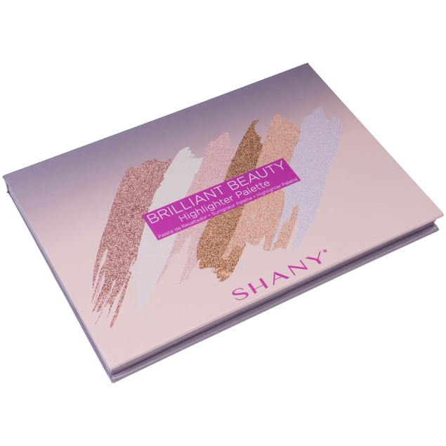 SHANY Brilliant Beauty 6-Color Highlighter Palette