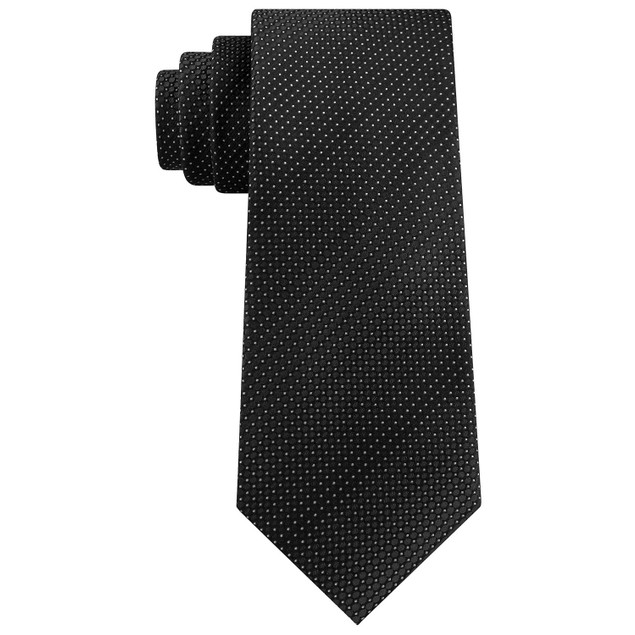 Kenneth Cole Reaction Men's Classic Ombre Dot Tie Black Size Regular