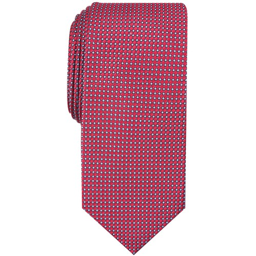 Nautica Men's Winder Mini Tie Red One Size