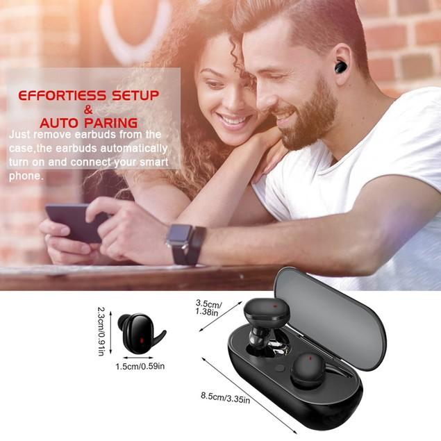 Bluetooth Headset Wireless Bluetooth Tws5.0 In-ear Mini Headset