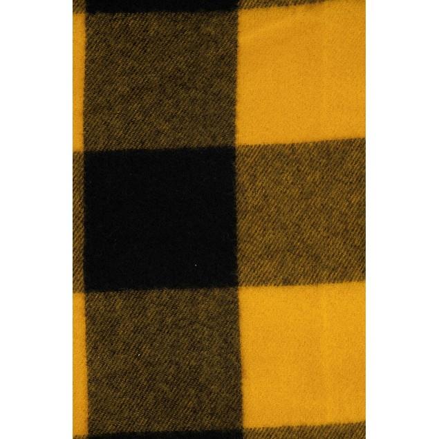 Alfani Men's Buffalo Plaid Scarf Yellow One Size