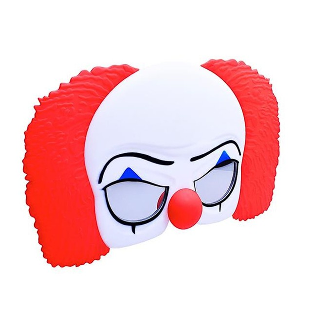 It Pennywise Classic Sun-Staches 1990 Costume Sunglasses Glasses Gift Clown