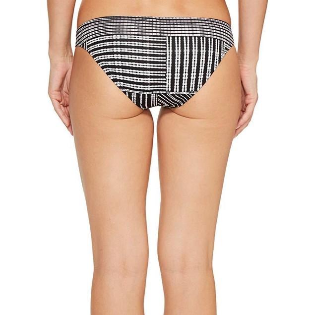 Vitamin A Women's Tab Side Hipster Bikini Bottom Mustique Print  SZ 6