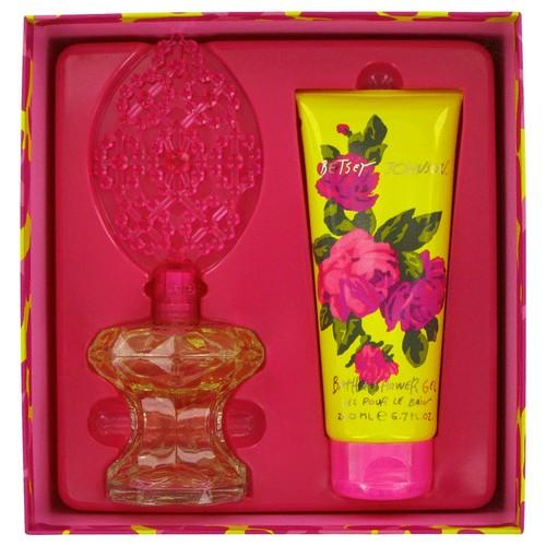 Betsey Johnson Gift Set -- 3.4 oz Eau De Parfum Spray + 6.7 oz Shower Gel