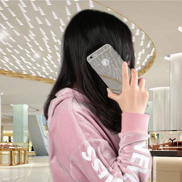 Slim Shock-resistant Mirror Case For iPhone 6 /6s