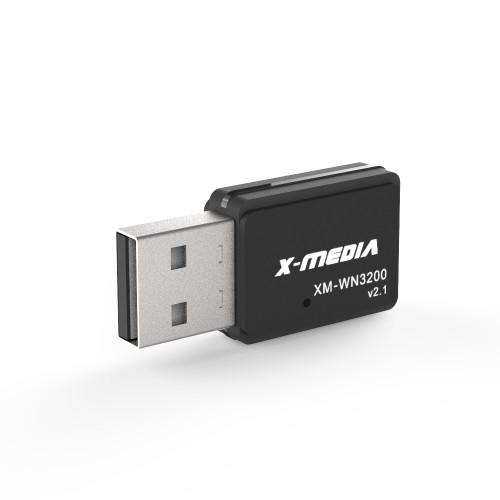 X-MEDIA XM-WN3200 300Mbps Wireless Mini USB 2.0 Adapter