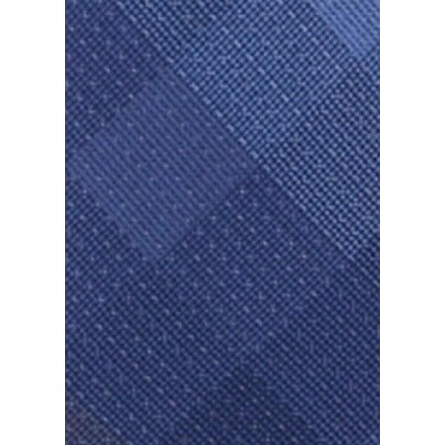 Kenneth Cole Reaction Men's Slim Dot Check Tie Blue Size Regular