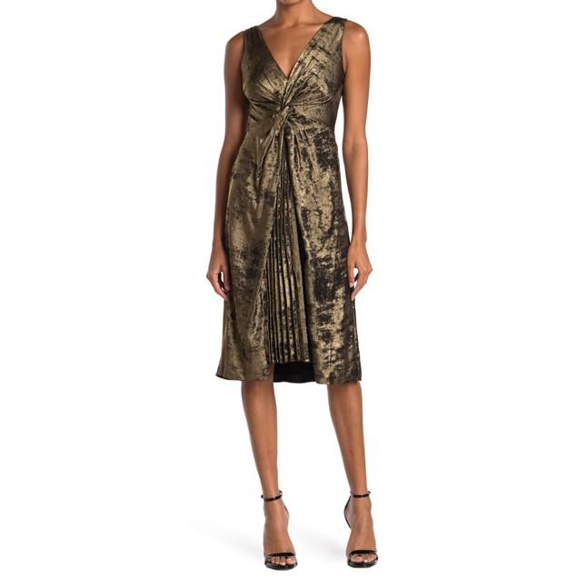 Bailey 44 Sofia 100% Polyester Sleeveless Twist Front Jacquard Dress, 6,