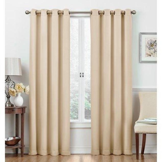 Regal Home Cambridge Collection Blackout Grommet-Top Curtain Panels