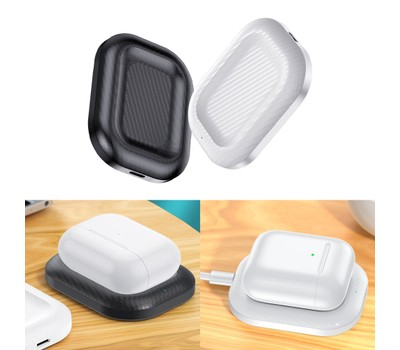 Wireless Charger Pad 3W for Airpods Bluetooth Earphone Was: $15.99 Now: $9.99.